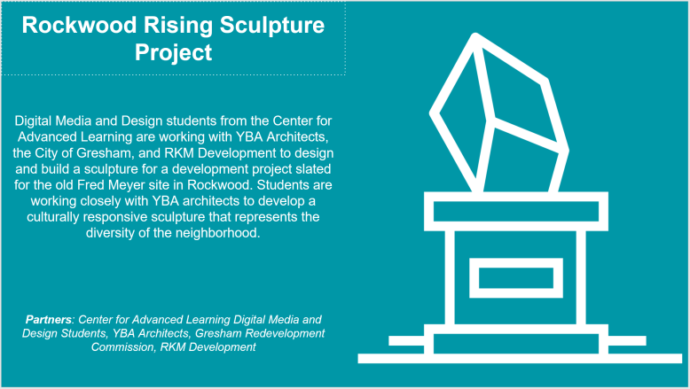 Rockwood Rising Sculpture